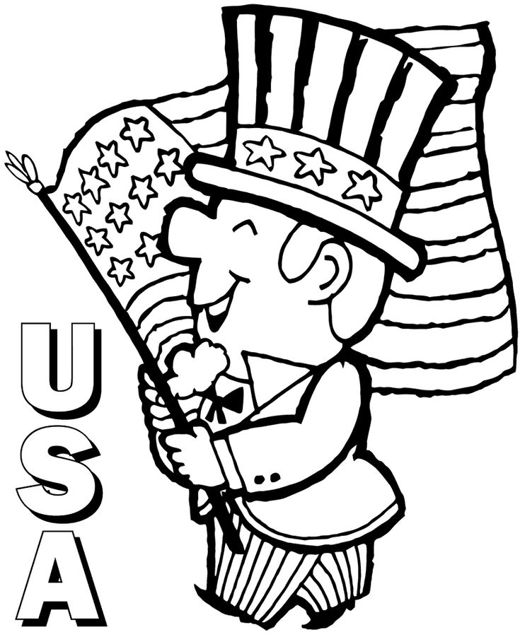 online Flag Day Coloring Pages - Best Coloring Pages For Kids to print out