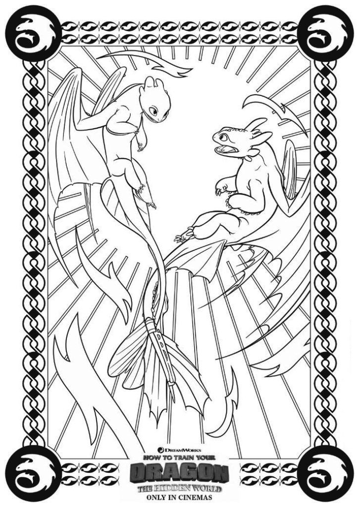 online How to Train Your Dragon Coloring Pages - Best Coloring Page... for adults