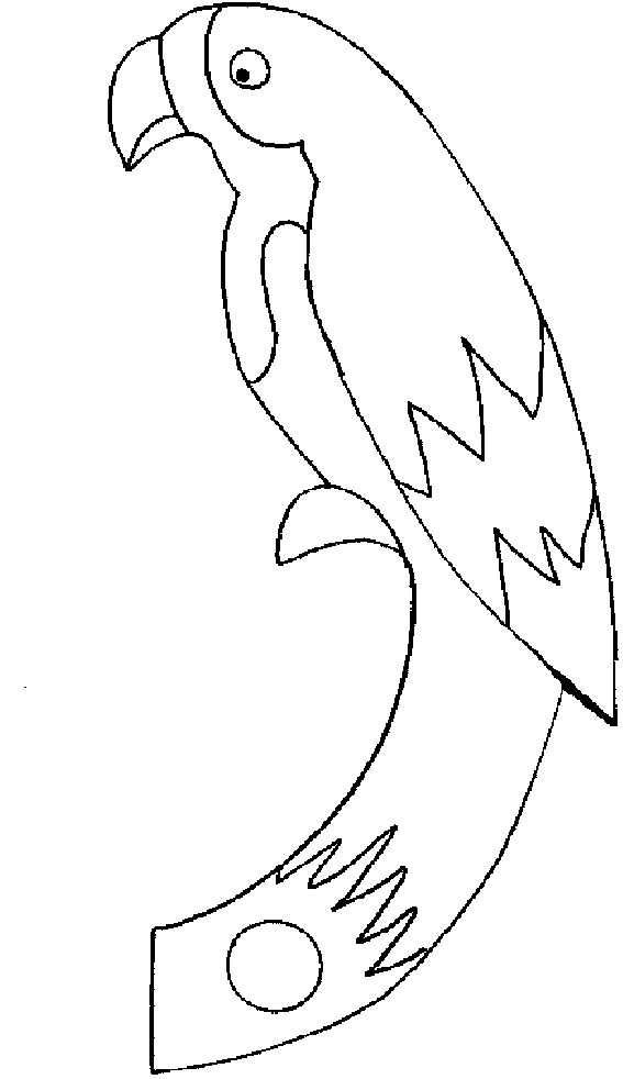 free printable Free Printable Parrot Coloring Pages For Kids already colored