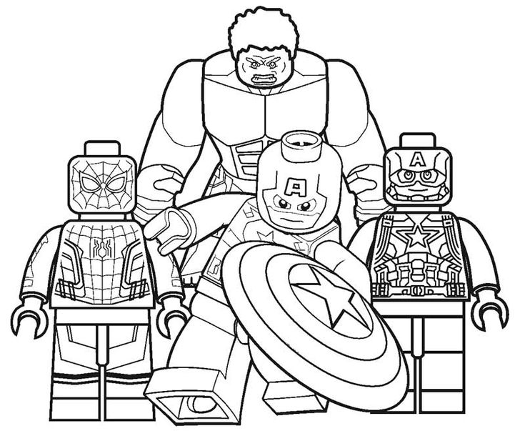 online Lego Superhero Coloring Pages - Best Coloring Pages For Kids toddler