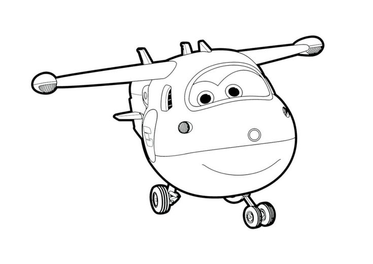 for girls Super Wings Coloring Pages - Best Coloring Pages For Kids already colored