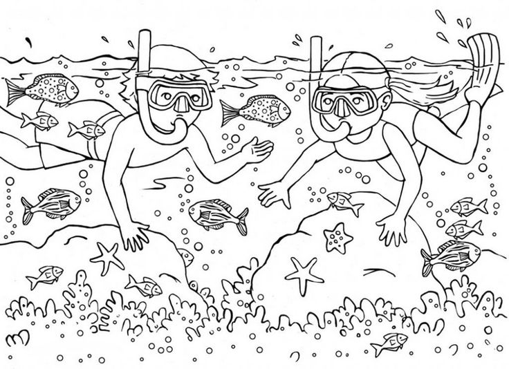 for kindergarten Summer Coloring Pages for Kids. Print them All for Free. for teens
