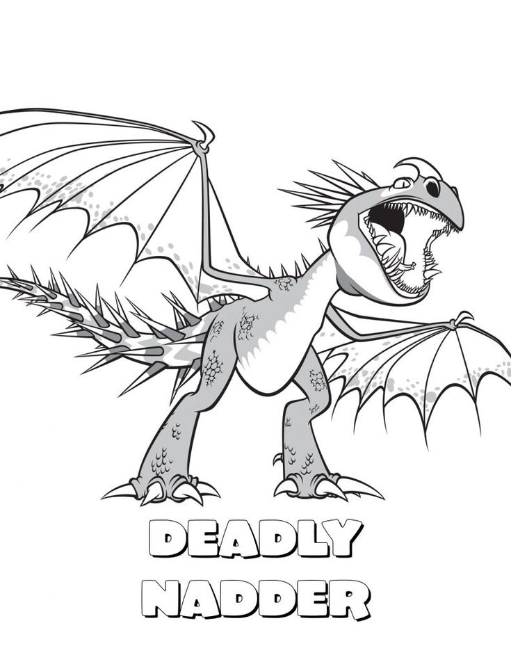 for toddlers How to Train Your Dragon Coloring Pages - Best Coloring Page... free printable