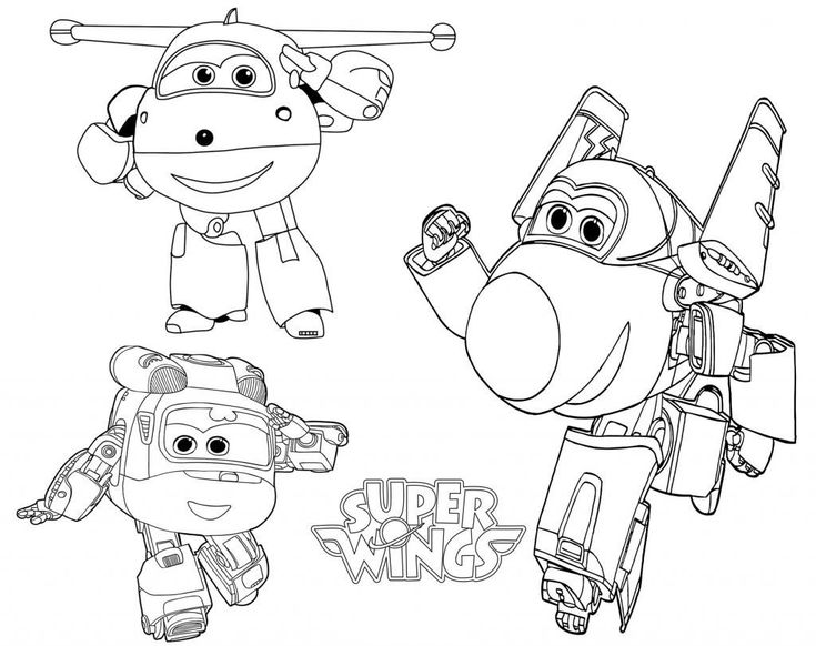 online Super Wings Coloring Pages - Best Coloring Pages For Kids online