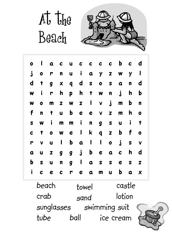 graphic regarding Free Printable Summer Word Search named Clean Coloring Webpages Totally free coloring internet pages printable for young children