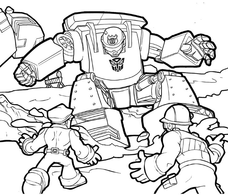 preschool Rescue Bots Coloring Pages - Best Coloring Pages For Kids for sunday school