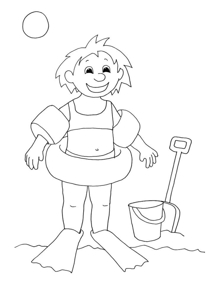for boys Summer Coloring Pages for Kids. Print them All for Free. printable