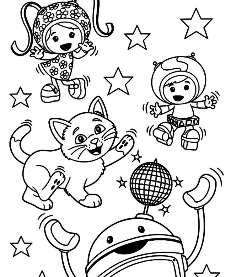 free Free Printable Team Umizoomi Coloring Pages For Kids for toddlers