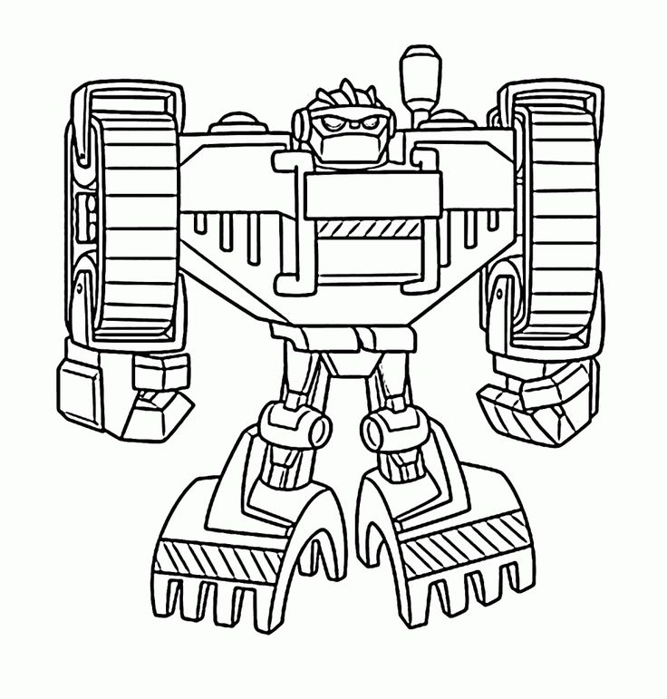 for teens Rescue Bots Coloring Pages - Best Coloring Pages For Kids for kindergarten