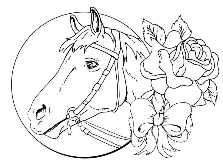 for adults Horse Coloring Pages for Adults – Best Coloring Pages For Ki… for teens