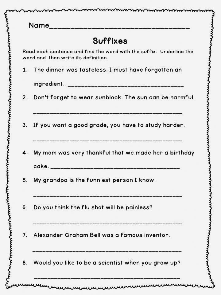 toddler 3rd Grade Worksheets - Best Coloring Pages For Kids free printable