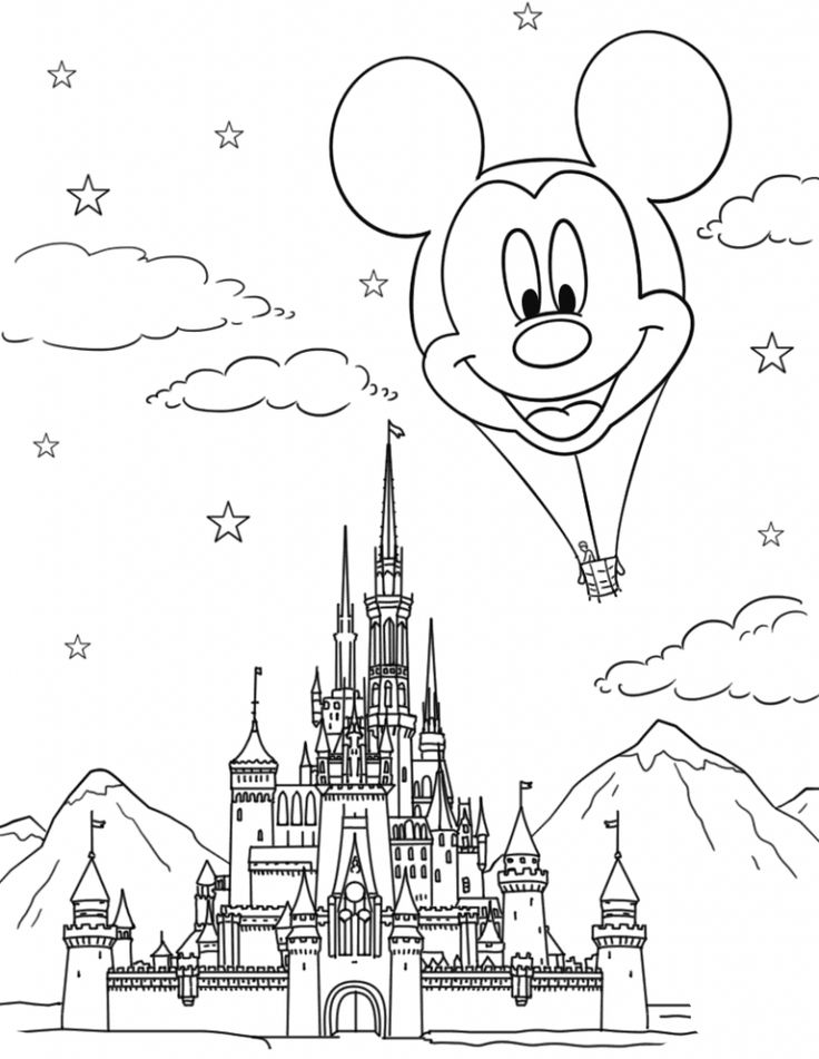 printable Disney Coloring Pages for Adults - Best Coloring Pages For K... preschool