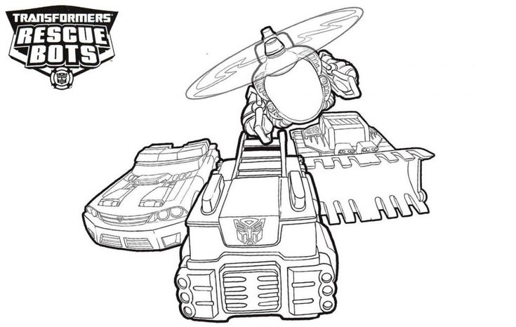 for adults Rescue Bots Coloring Pages - Best Coloring Pages For Kids preschool
