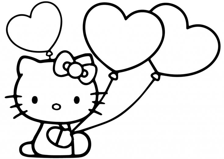 already colored Balloon Coloring Pages - Best Coloring Pages For Kids easy