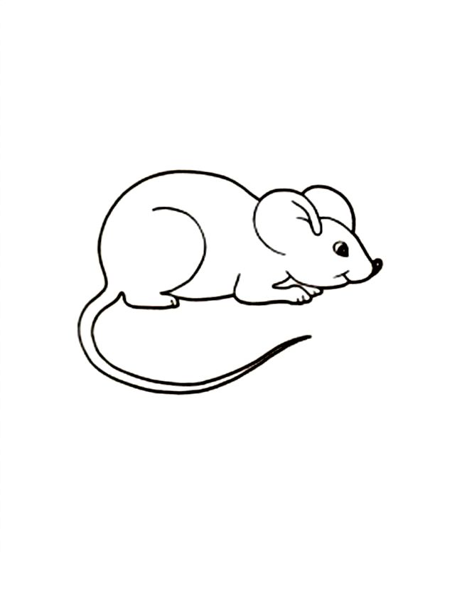for kindergarten Free Printable Mouse Coloring Pages For Kids pdf