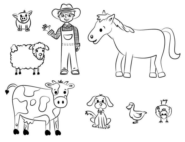 pdf Free Printable Farm Animal Coloring Pages For Kids already colored