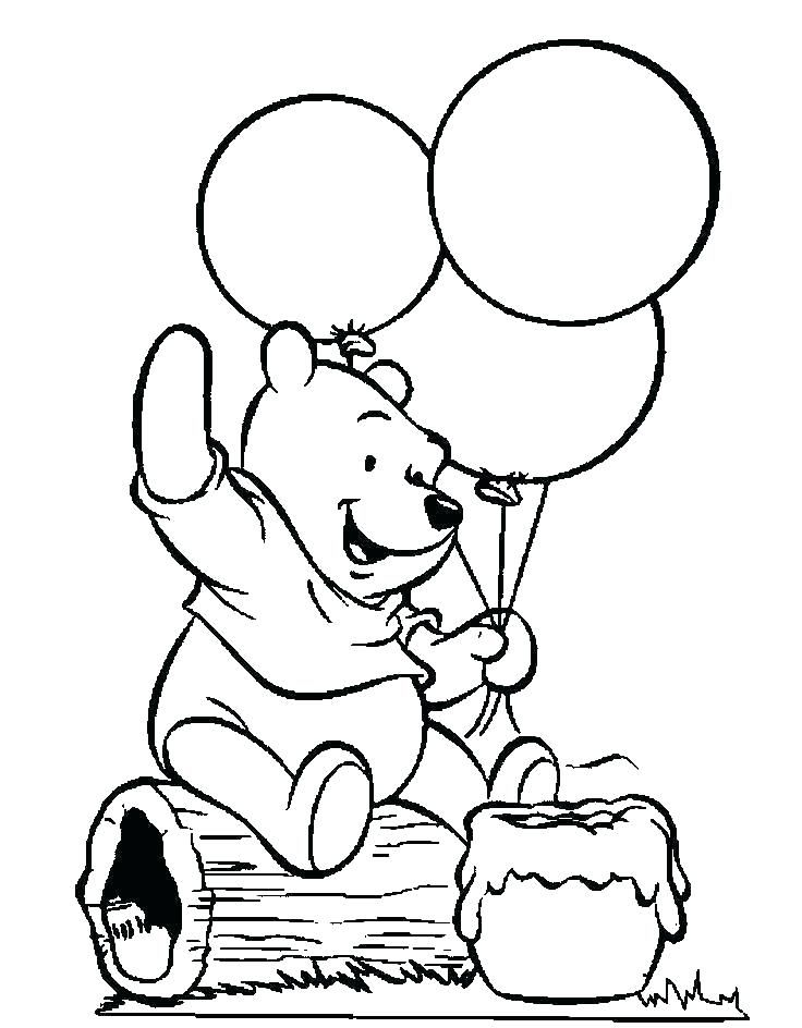 free Balloon Coloring Pages - Best Coloring Pages For Kids preschool