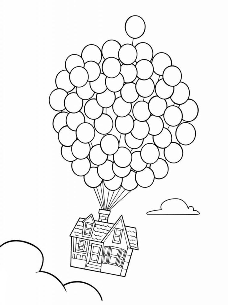 simple Balloon Coloring Pages - Best Coloring Pages For Kids online