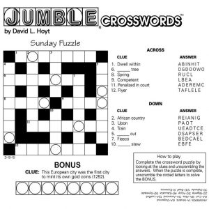 for kindergarten Crossword Puzzles for Adults - Best Coloring Pages For Kids preschool