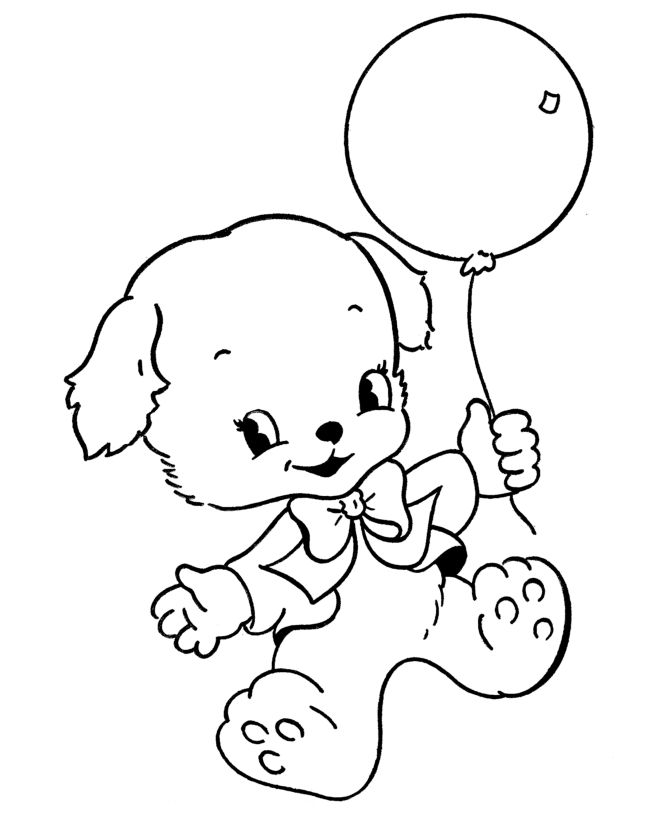 for sunday school Balloon Coloring Pages - Best Coloring Pages For Kids already colored