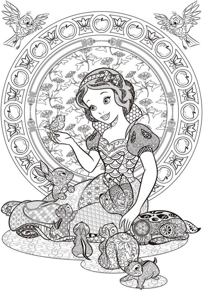 for teens Disney Coloring Pages for Adults - Best Coloring Pages For K... online