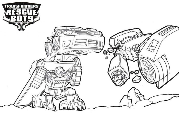 online Rescue Bots Coloring Pages - Best Coloring Pages For Kids for sunday school