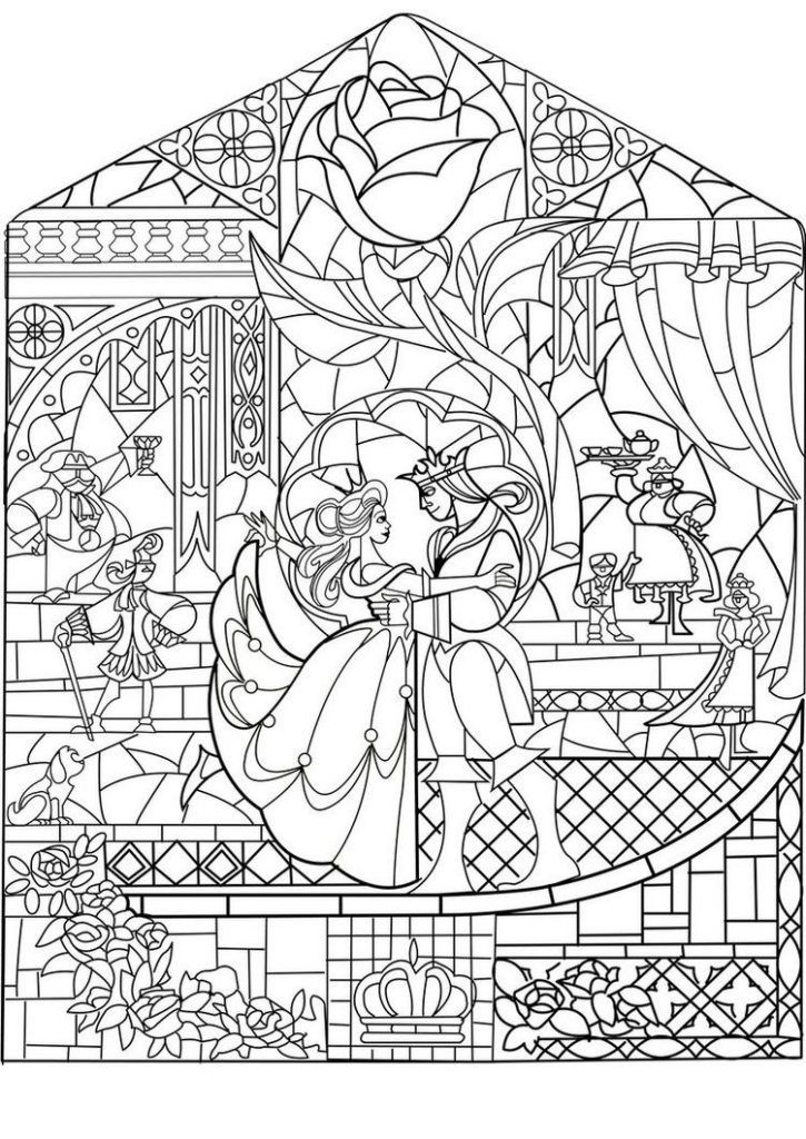 online Disney Coloring Pages for Adults - Best Coloring Pages For K... to print out