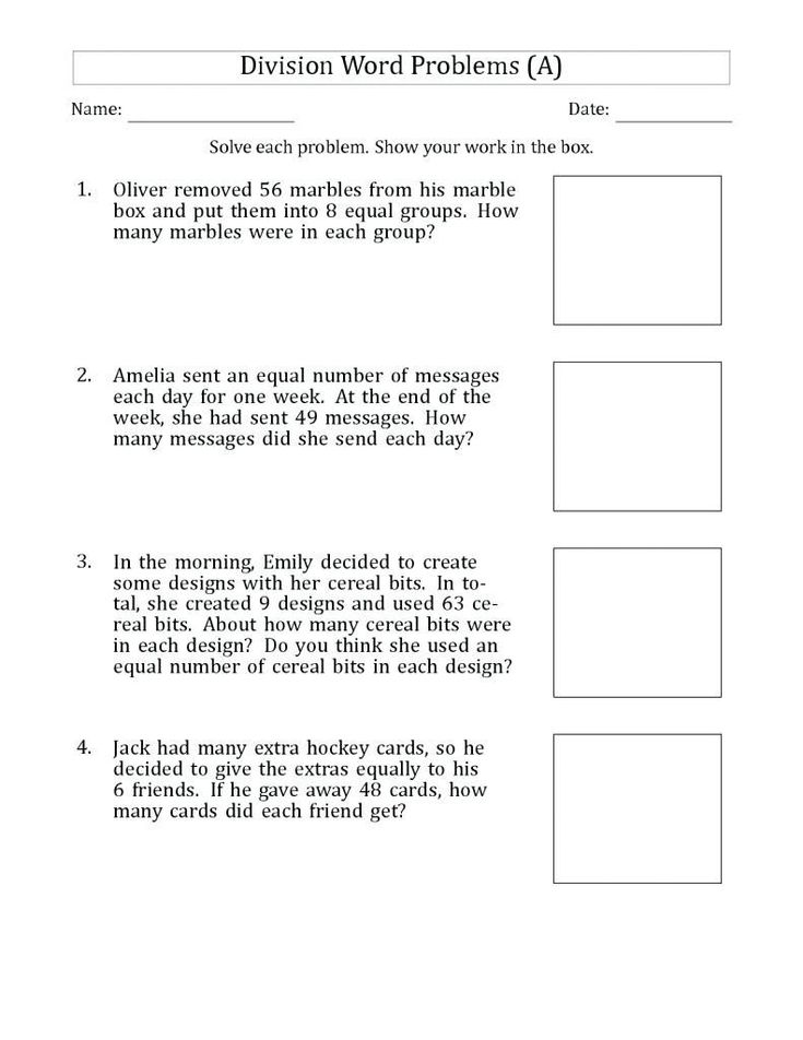 for sunday school 4th Grade Math Word Problems - Best Coloring Pages For Kids to print out