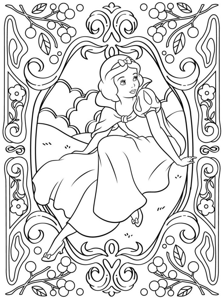 for teens Disney Coloring Pages for Adults - Best Coloring Pages For K... simple