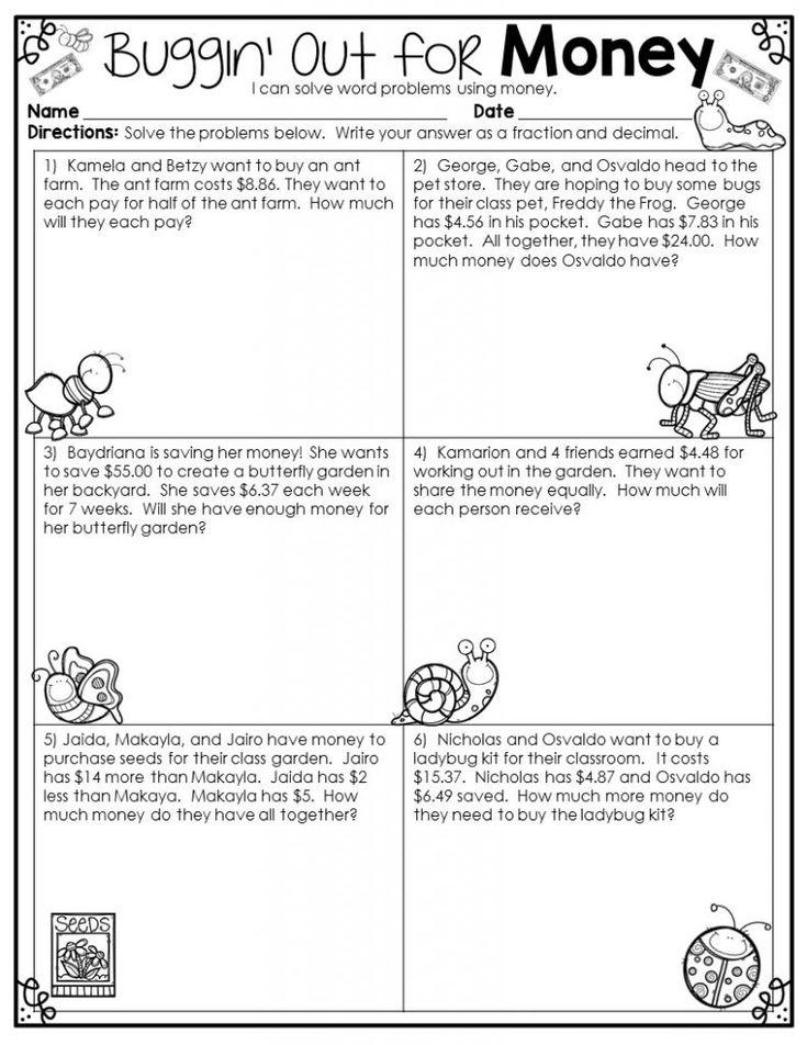 for boys 4th Grade Math Word Problems - Best Coloring Pages For Kids for boys