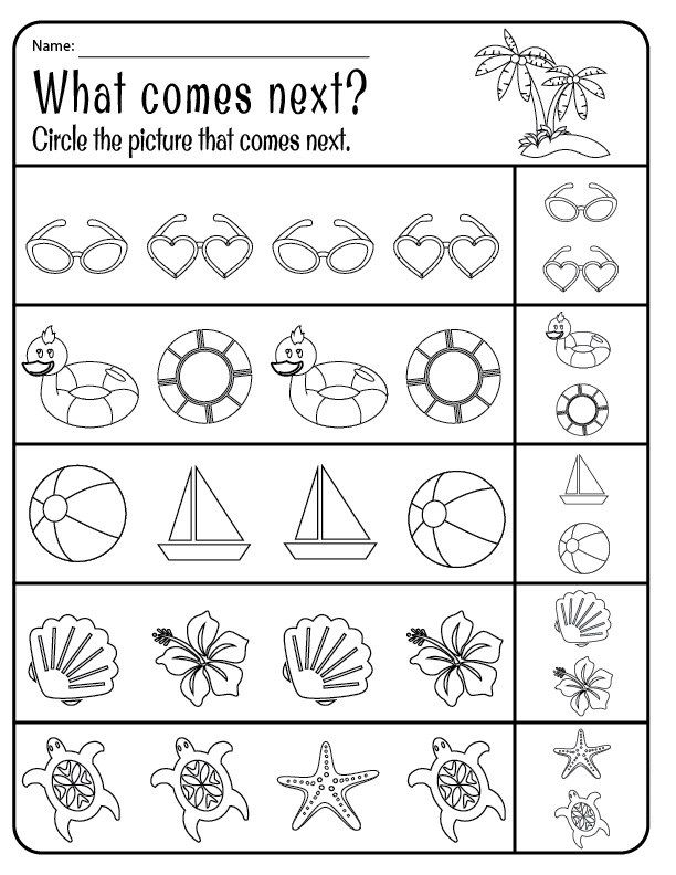 printable Summer Worksheets - Best Coloring Pages For Kids for adults