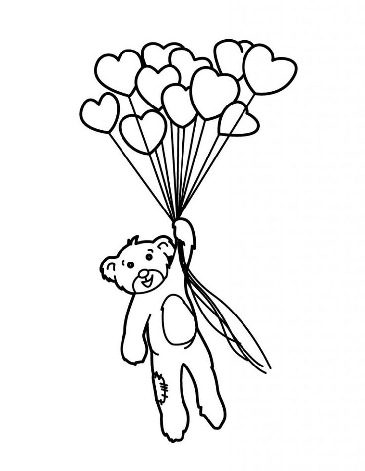 easy Balloon Coloring Pages - Best Coloring Pages For Kids pdf
