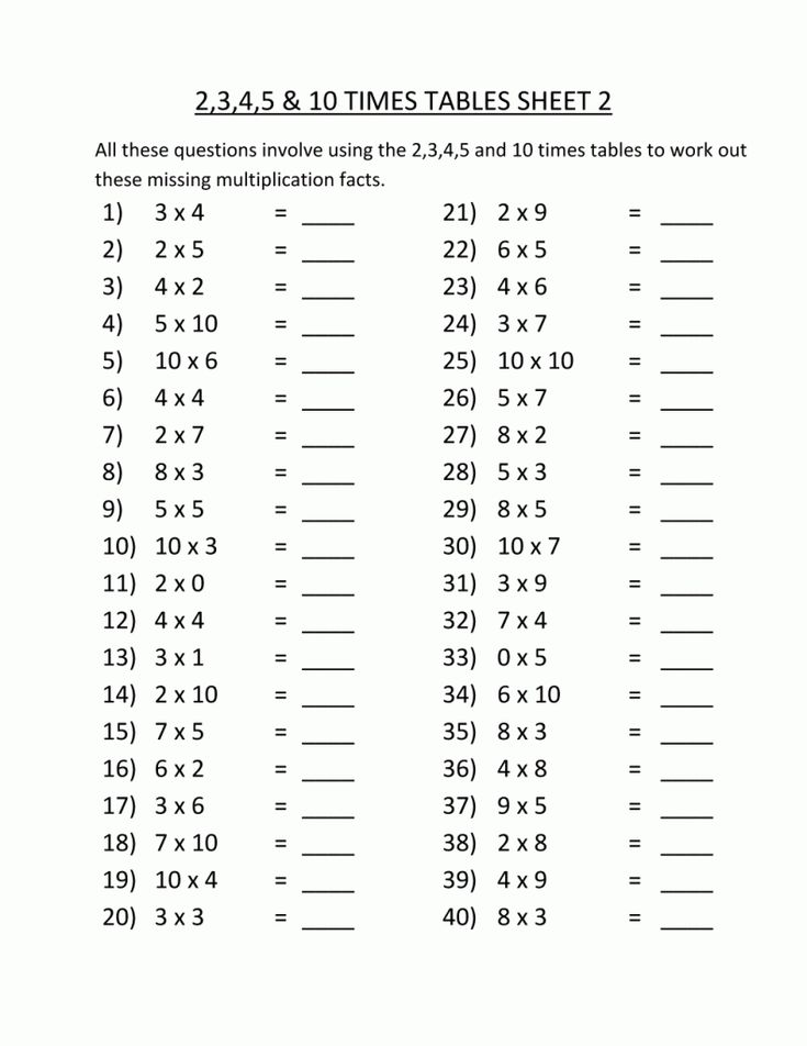 simple 3rd Grade Multiplication Worksheets - Best Coloring Pages Fo... online