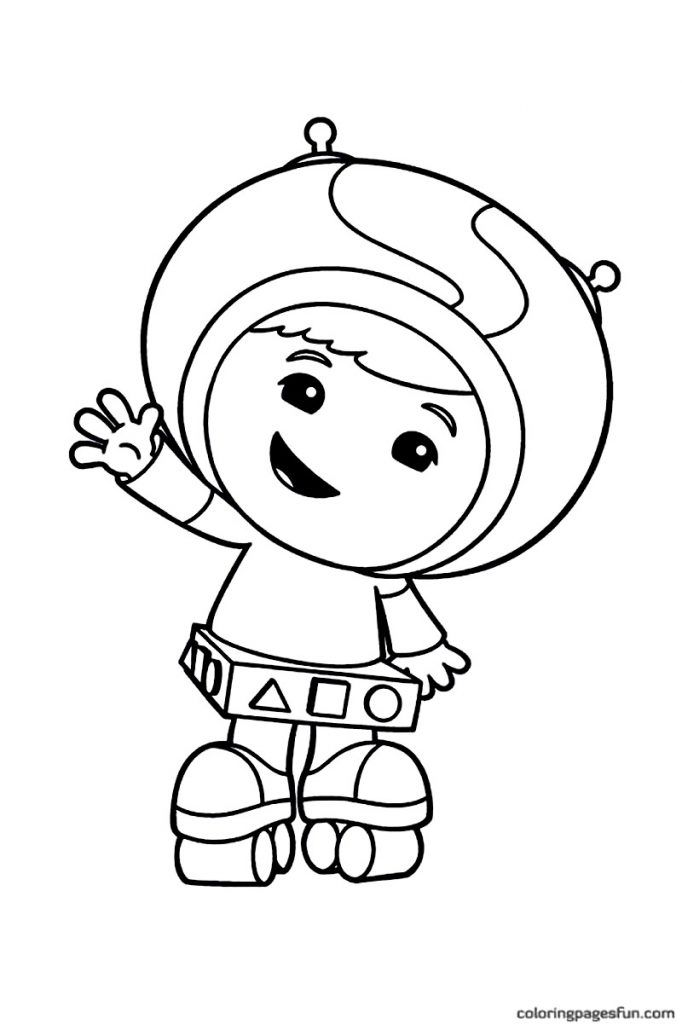 free Free Printable Team Umizoomi Coloring Pages For Kids simple