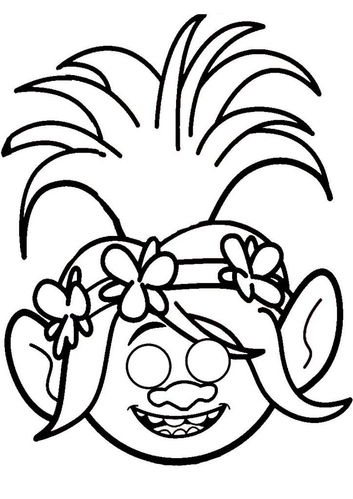 simple Poppy Coloring Pages - Best Coloring Pages For Kids to print out