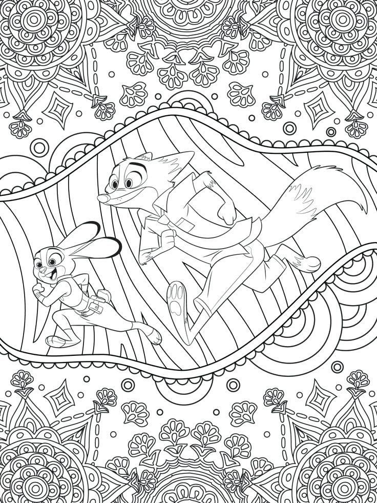 free printable Disney Coloring Pages for Adults - Best Coloring Pages For K... pdf