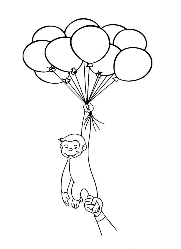 pdf Balloon Coloring Pages - Best Coloring Pages For Kids preschool