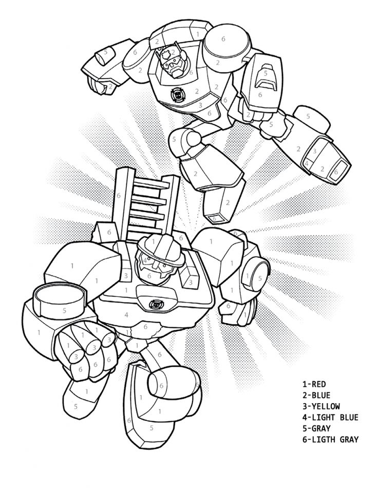 for toddlers Rescue Bots Coloring Pages - Best Coloring Pages For Kids for kids