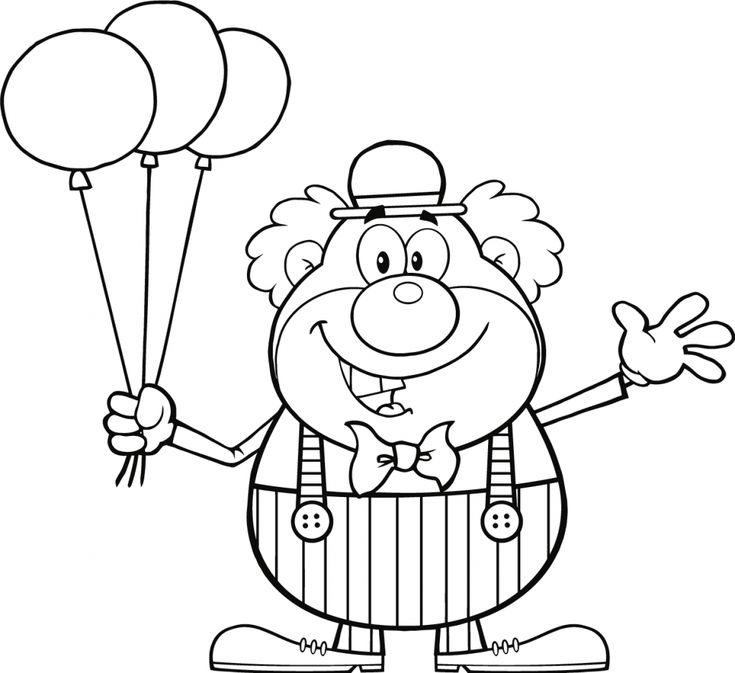 for boys Balloon Coloring Pages - Best Coloring Pages For Kids for adults