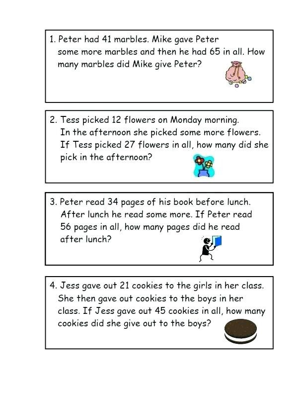for sunday school 3rd Grade Math Word Problems - Best Coloring Pages For Kids to print out