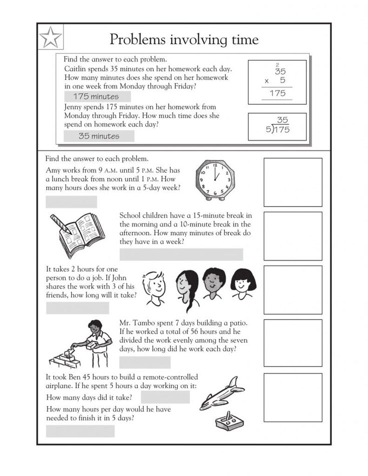 for kids 3rd Grade Math Word Problems - Best Coloring Pages For Kids for toddlers