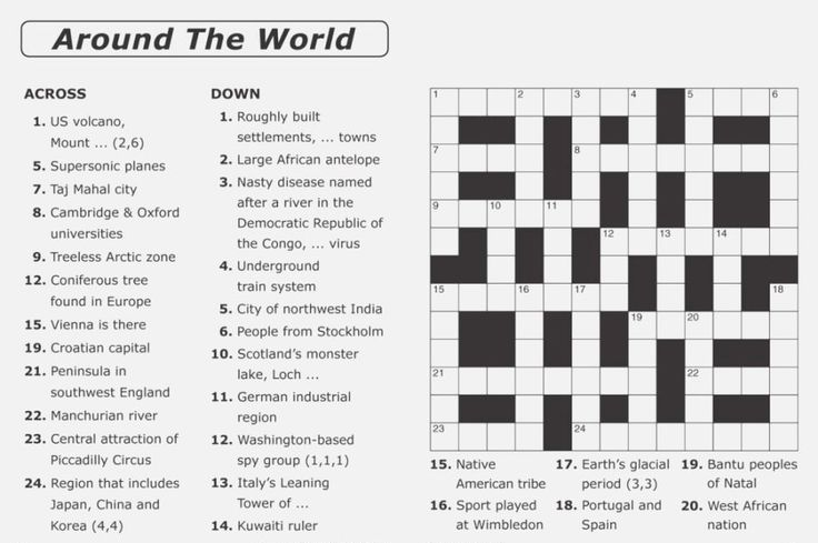 for teens Crossword Puzzles for Adults - Best Coloring Pages For Kids printable