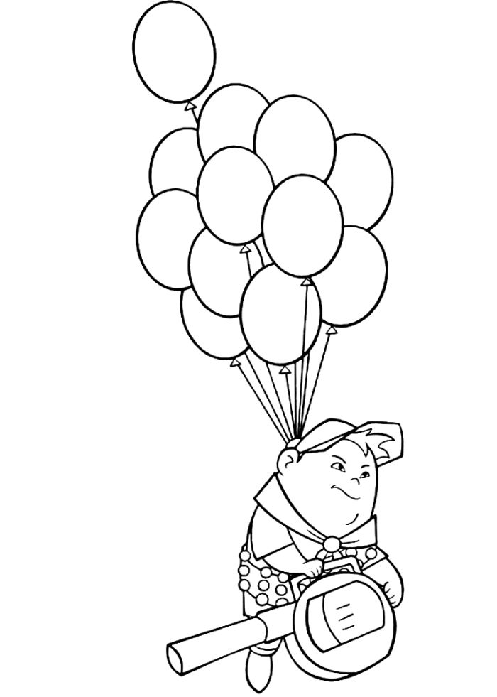 online Balloon Coloring Pages - Best Coloring Pages For Kids toddler