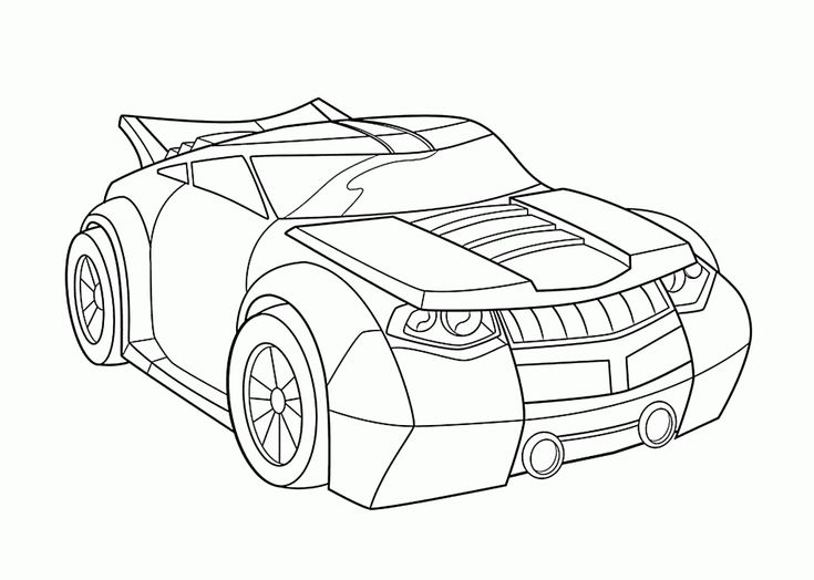 easy Rescue Bots Coloring Pages - Best Coloring Pages For Kids for toddlers
