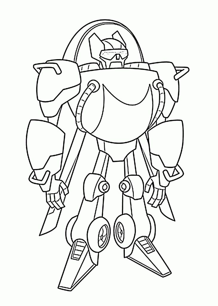 simple Rescue Bots Coloring Pages - Best Coloring Pages For Kids easy