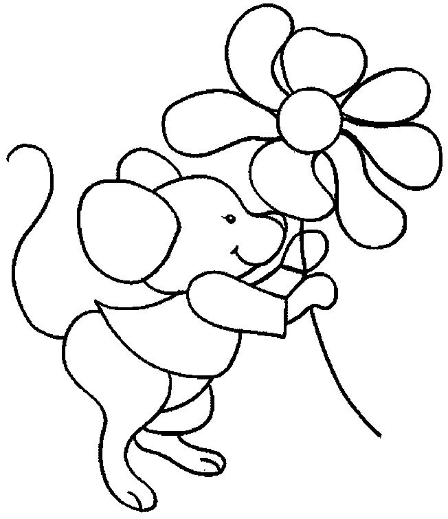 online Free Printable Mouse Coloring Pages For Kids for kindergarten