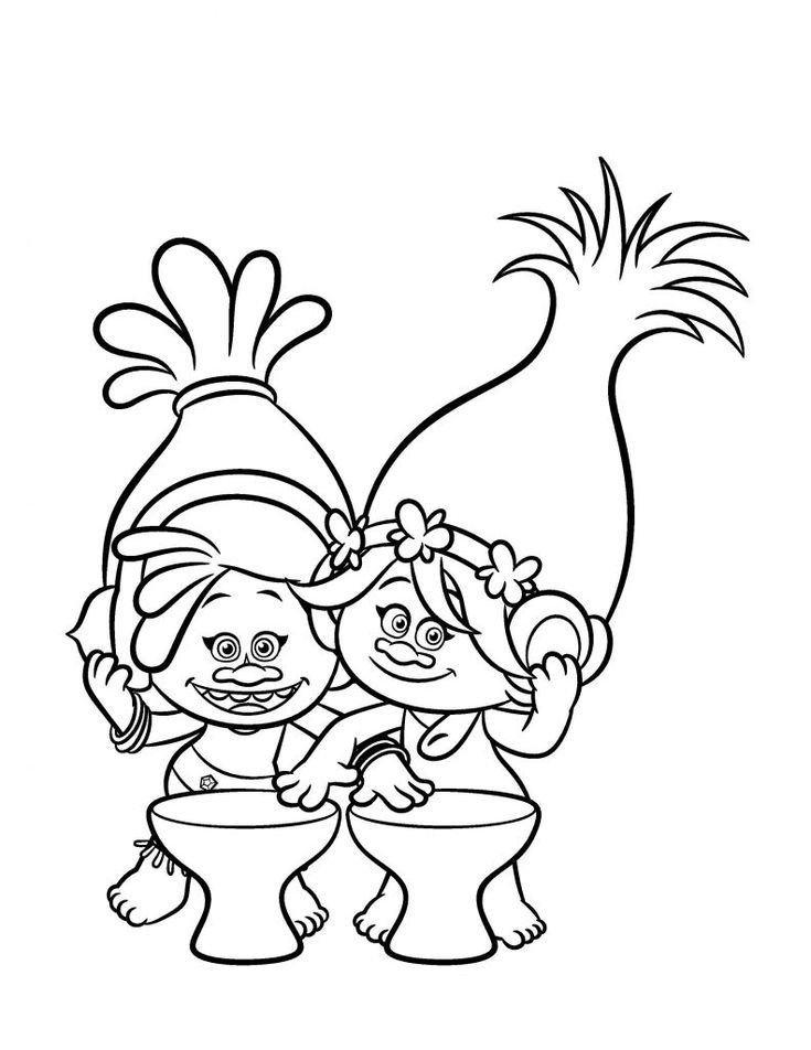 toddler Poppy Coloring Pages - Best Coloring Pages For Kids for kindergarten