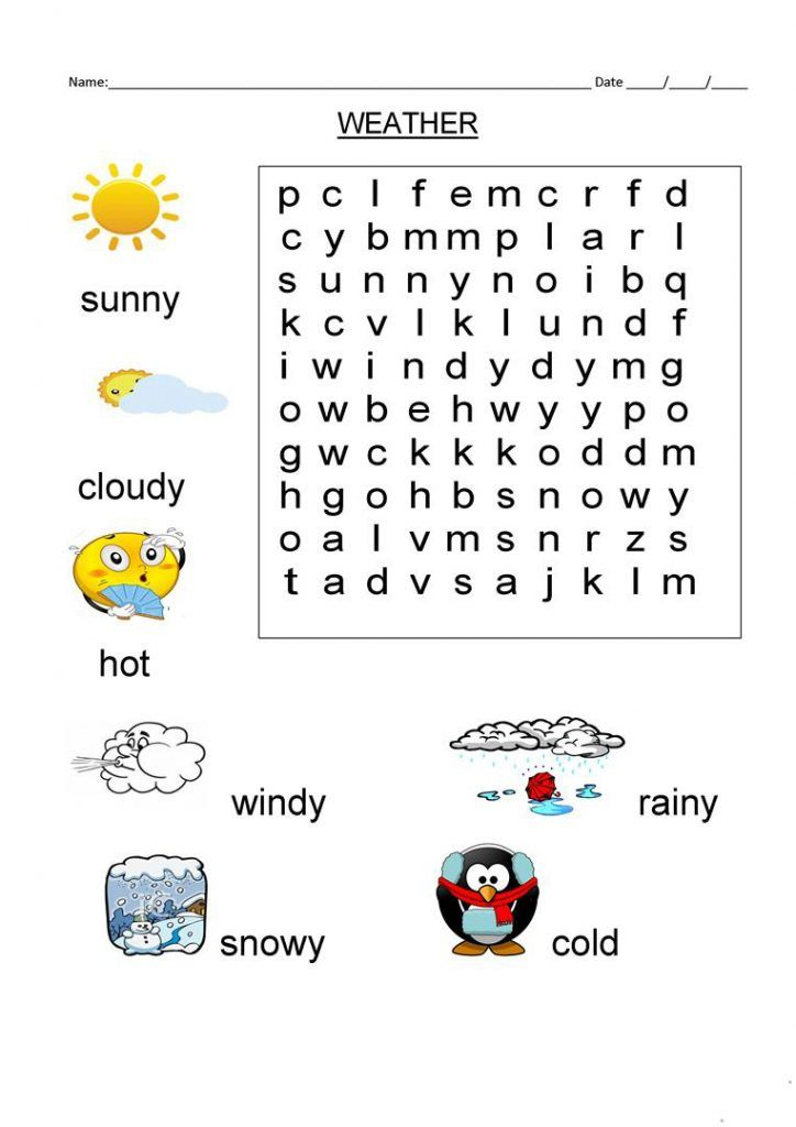 preschool 1st Grade Word Search - Best Coloring Pages For Kids already colored