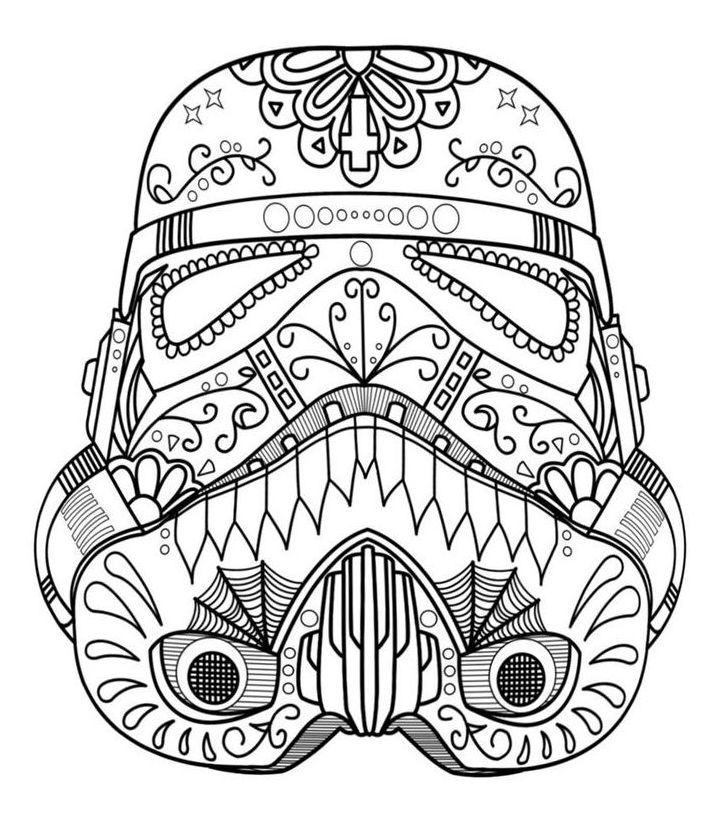 pdf Skull Coloring Pages for Adults