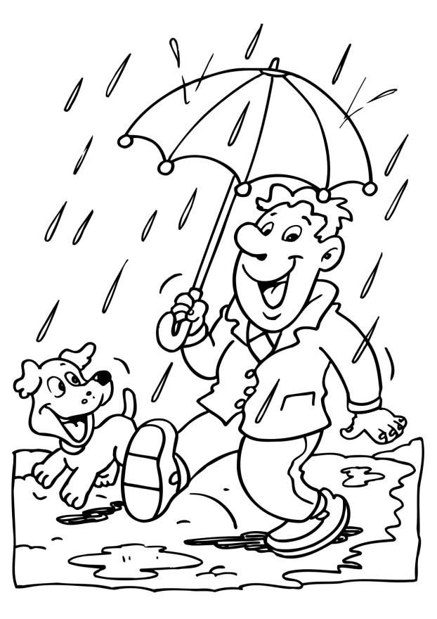for toddlers Rain Coloring Pages - Best Coloring Pages For Kids preschool